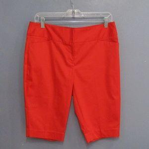 NEW Worthington Deep Mandarin Orange Bermuda Short